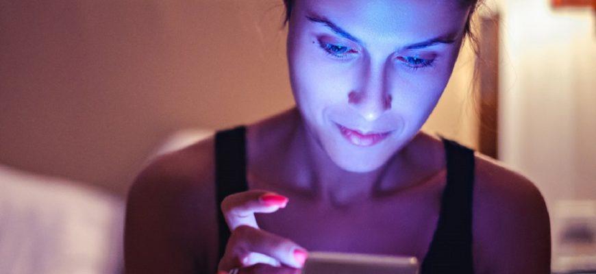 Как излучение синего спектра воздействует на глаза? »