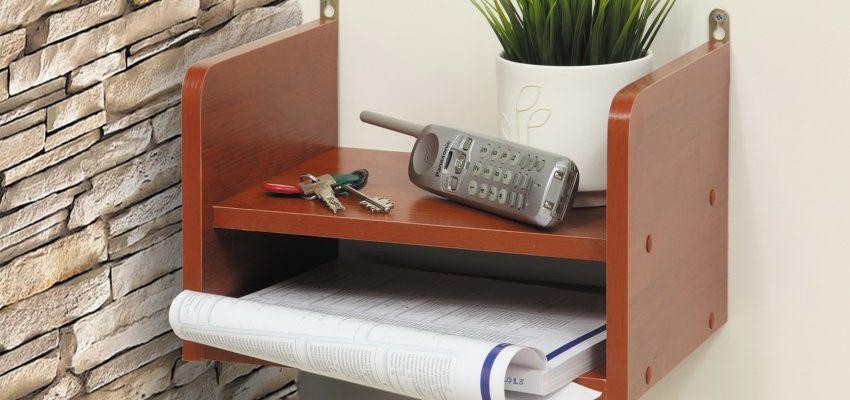 Полка под телефон: обзор прямых и угловых моделей для современных гаджетов (100 фото)