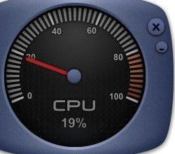 Виджет температуры процессора - легкая установка
