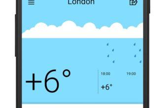 На Windows 10 вышло приложение Яндекс Погода