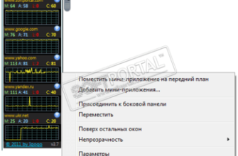 Ping Monitor скачать бесплатно для Windows 10, 8, 7, XP