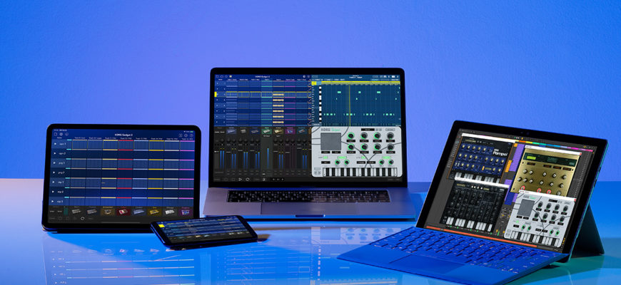 KORG Gadget 2 Le on the AppStore